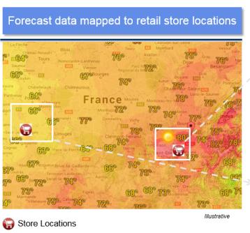Micro weather patterns using Analytics